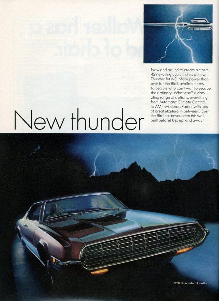 68 Ford Thunderbird cars (6)