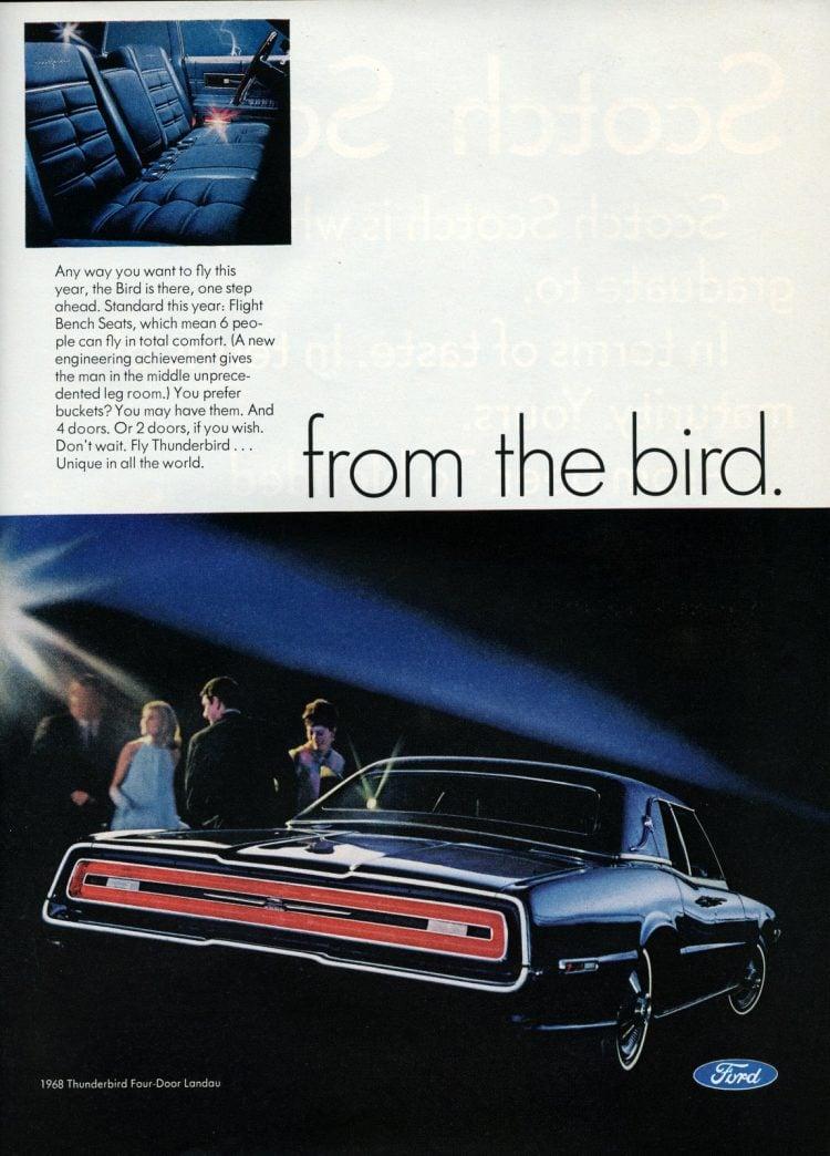 68 Ford Thunderbird cars (7)
