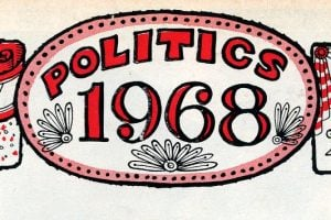 68 Presidential election Nixon, Romney, McCarthy, Reagan, Johnson