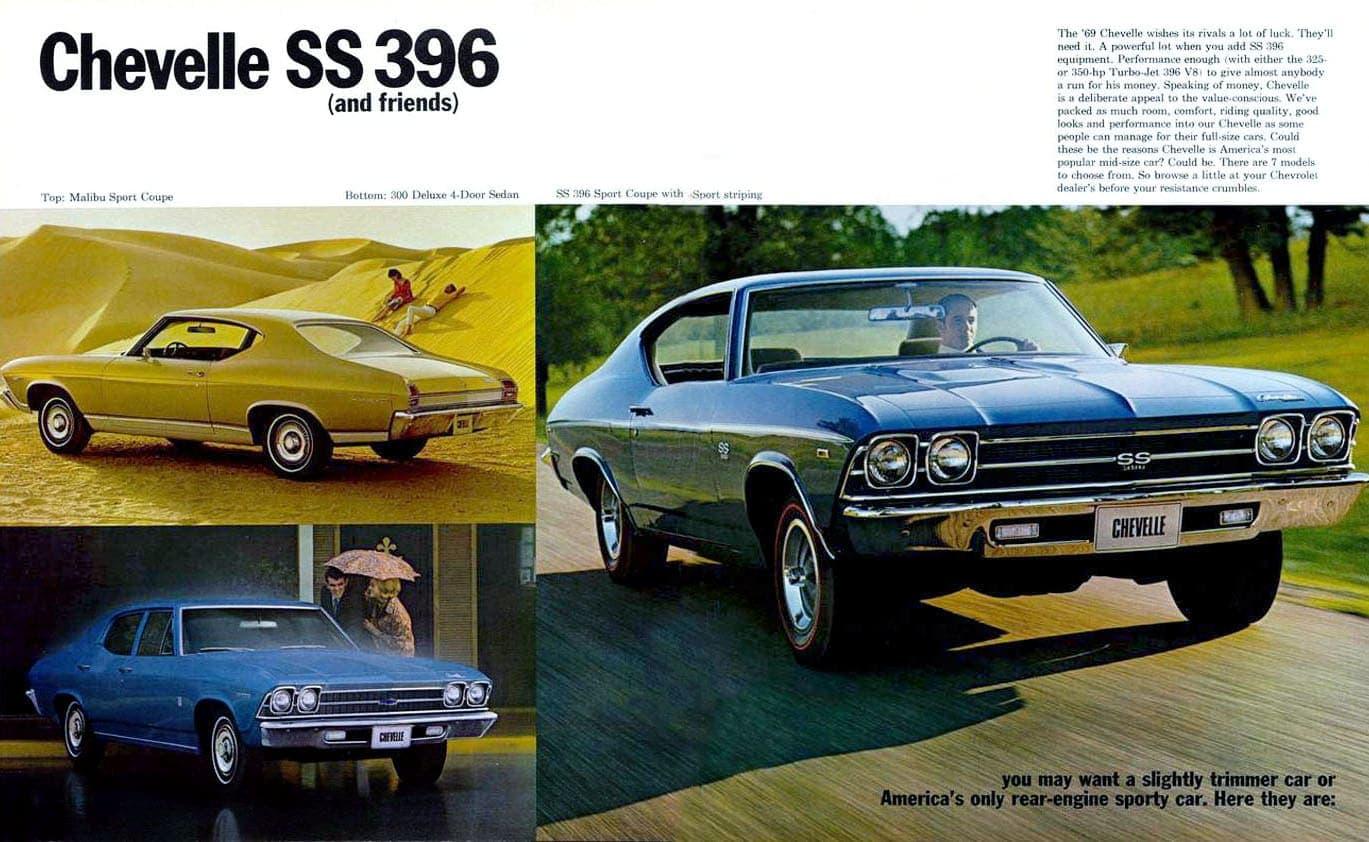 '69 Chevrolet Chevelle SS396