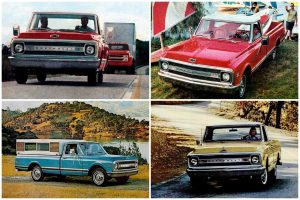 69 Chevy pickups Fleetsides, Stepsides, Longhorns