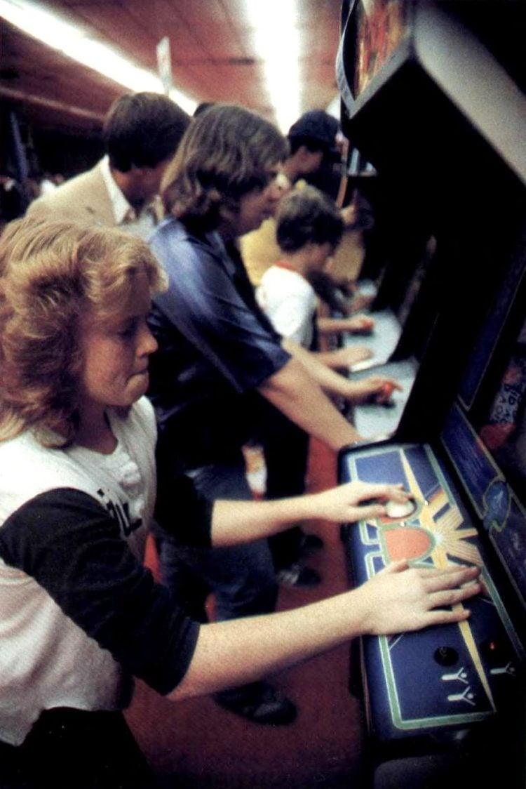 7-Eleven video game arcade 1983