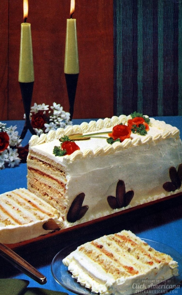 7-layer sandwich cake from 1969
