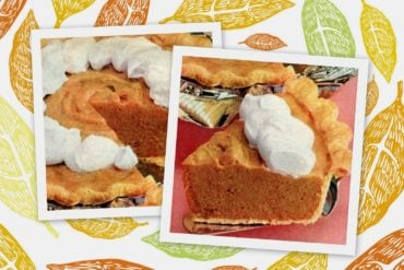 7-step Pumpkin chiffon pie recipe from 1959
