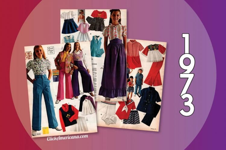 70s clothes for girls from the 1973 JC Penney catalog