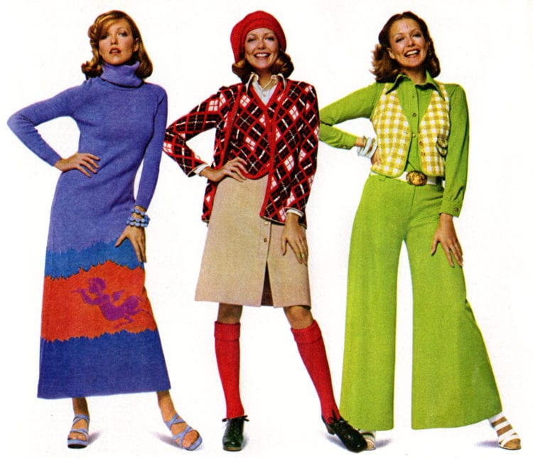 70s fashions for women from 1974