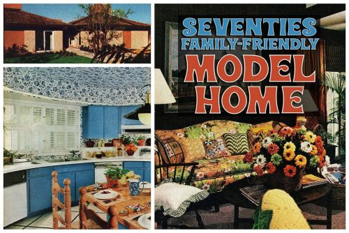 70s model home - pretty practical family-friendly house