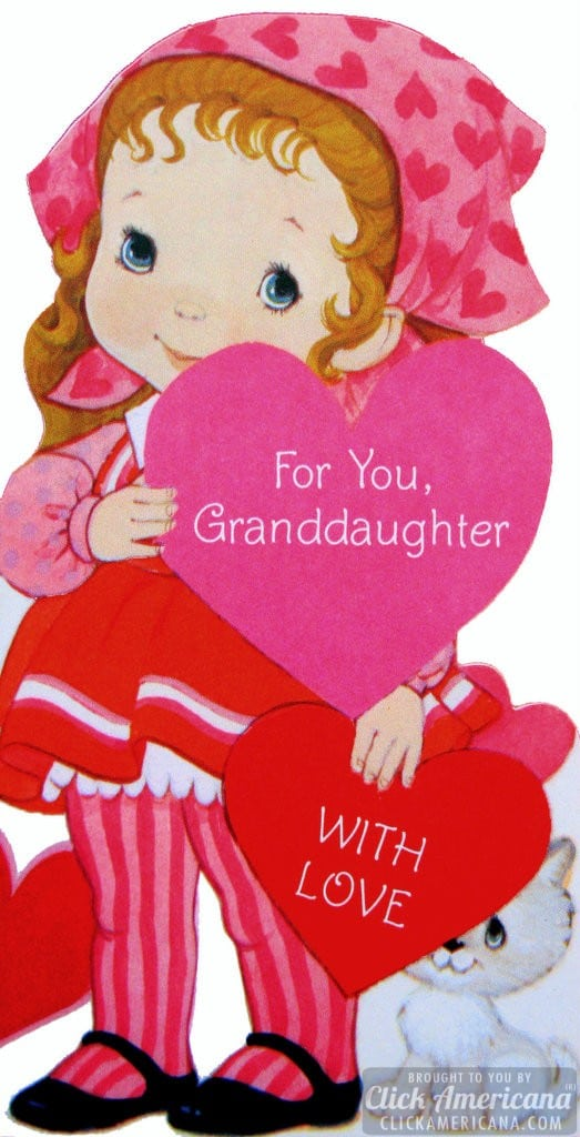 For you, granddaughter - with love