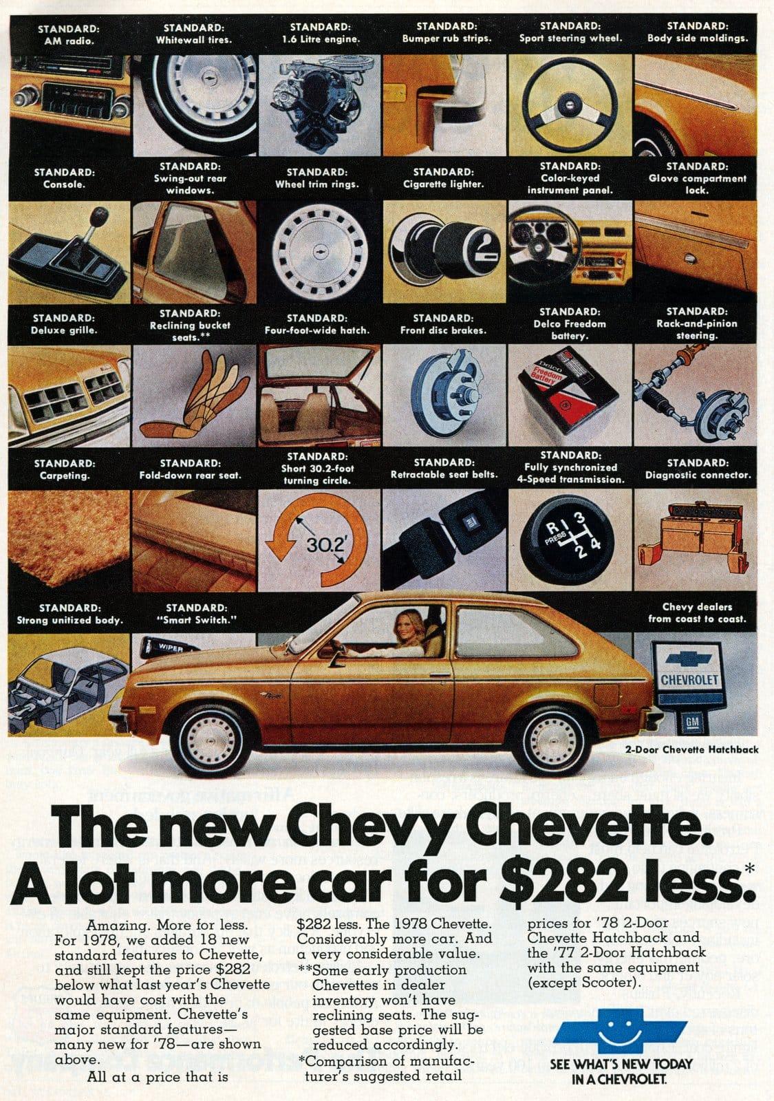 78 Chevrolet Chevette - December 1977