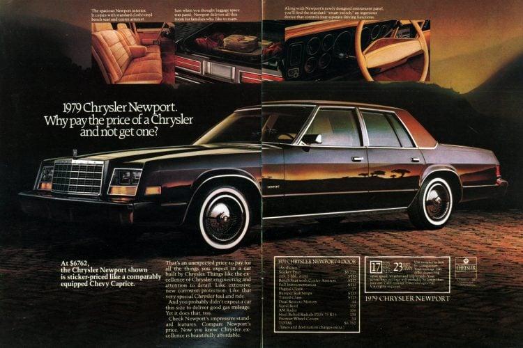 79 Chrysler Newport - Classic cars
