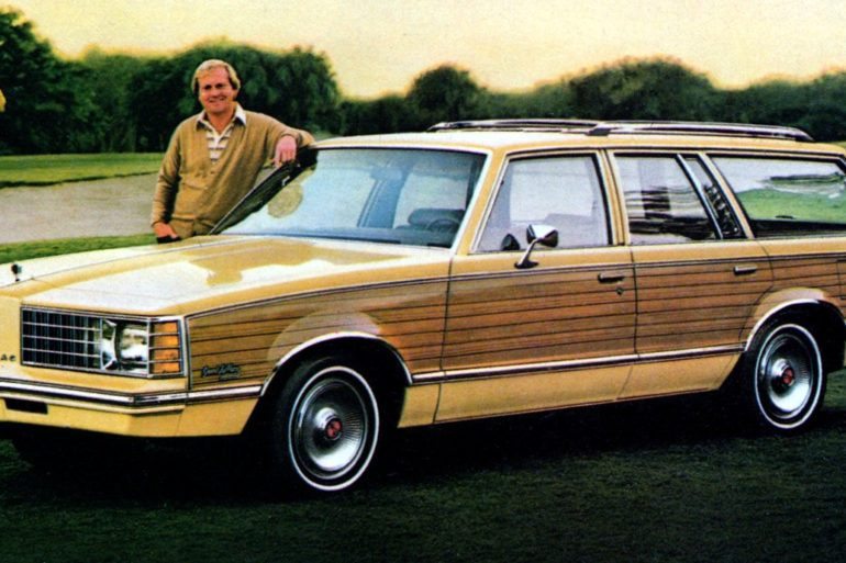 79 Pontiac Grand LeMans Safari - Golfer Jack Nicklaus