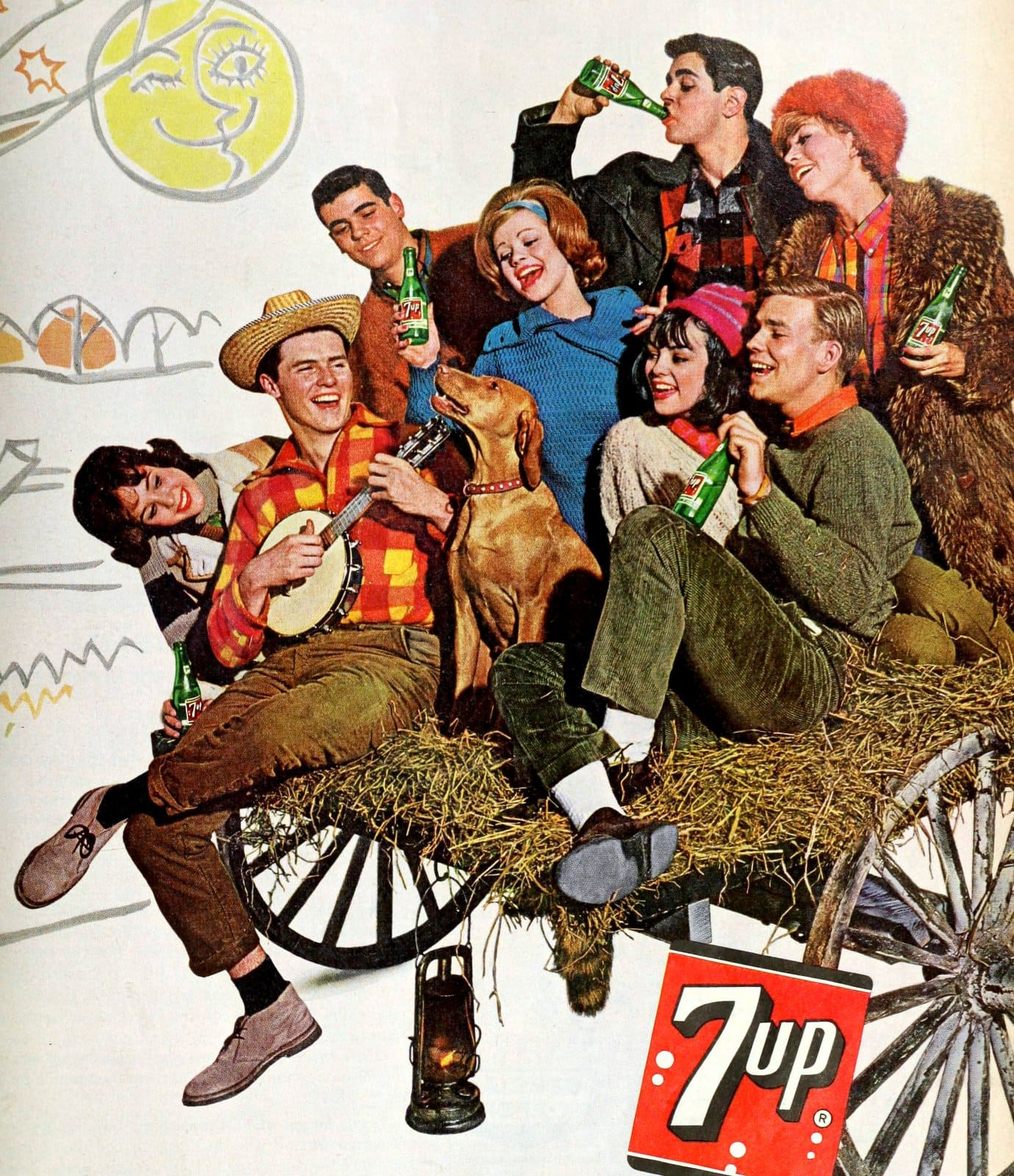 7UP on a singalong hayride (1962)