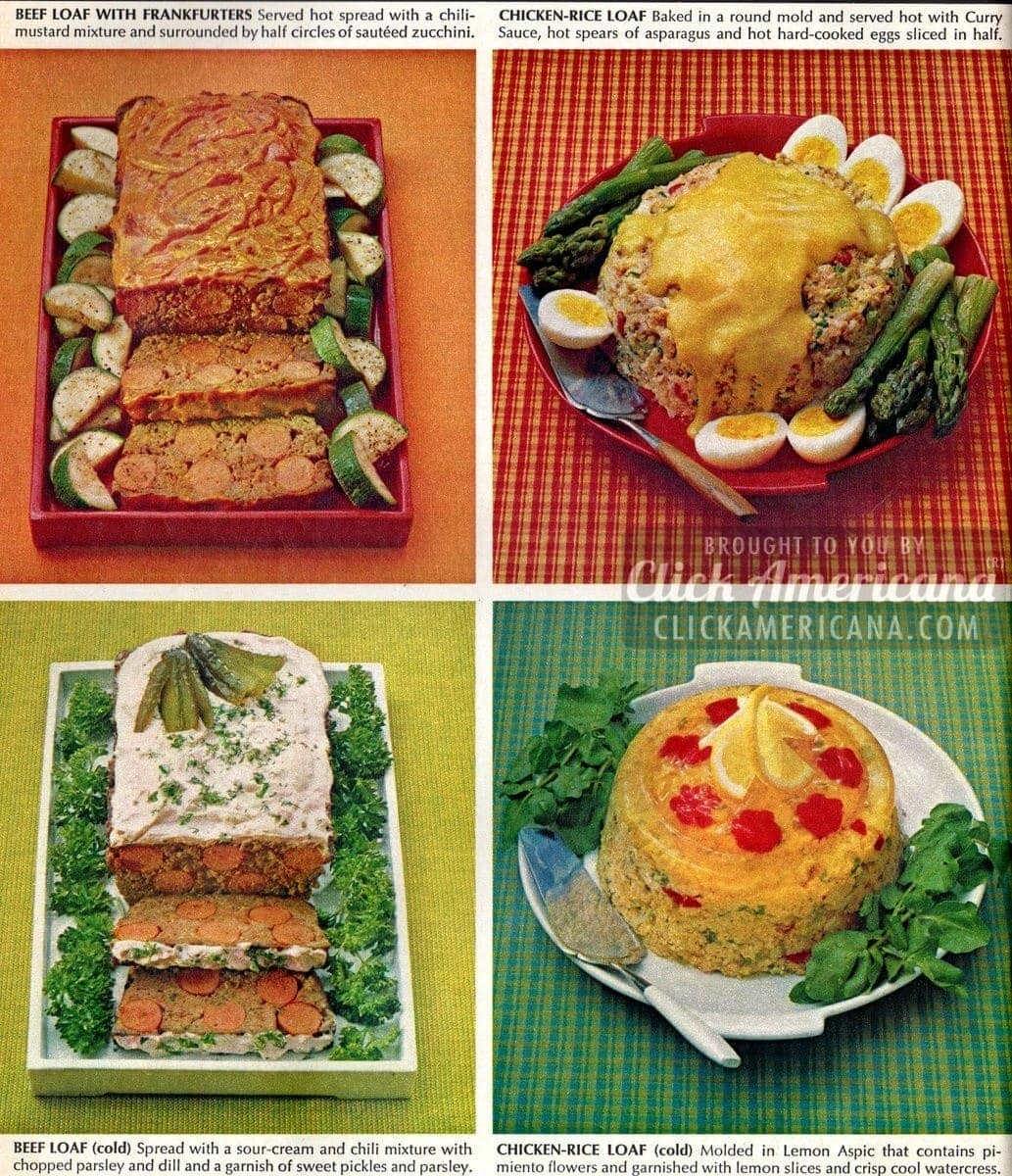 Mmm – meatloaf! 8 new meatloaf recipes (1967)