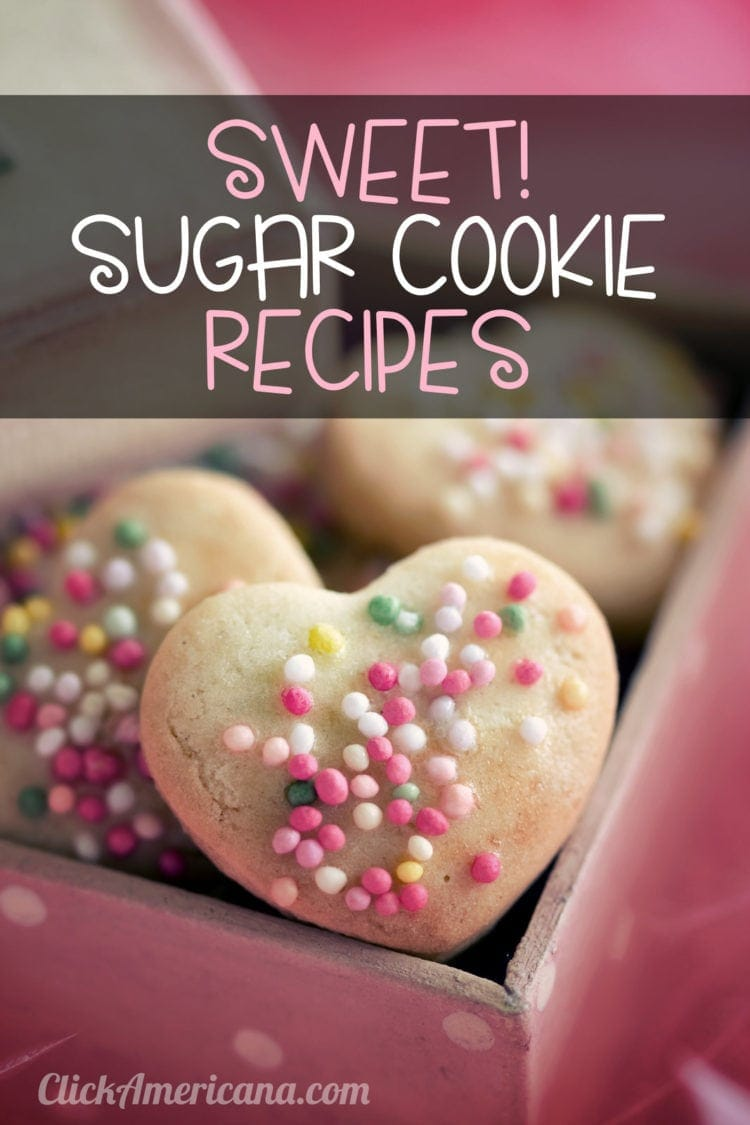 Sweet! 8 spectacular vintage sugar cookie recipes (1970s)