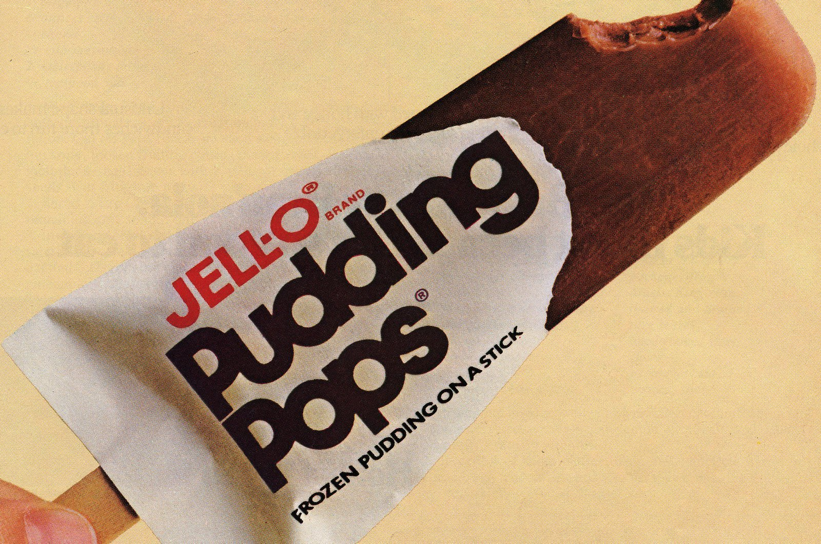Jell-O Pudding Pops & other brands in the '80s pudding pop craze