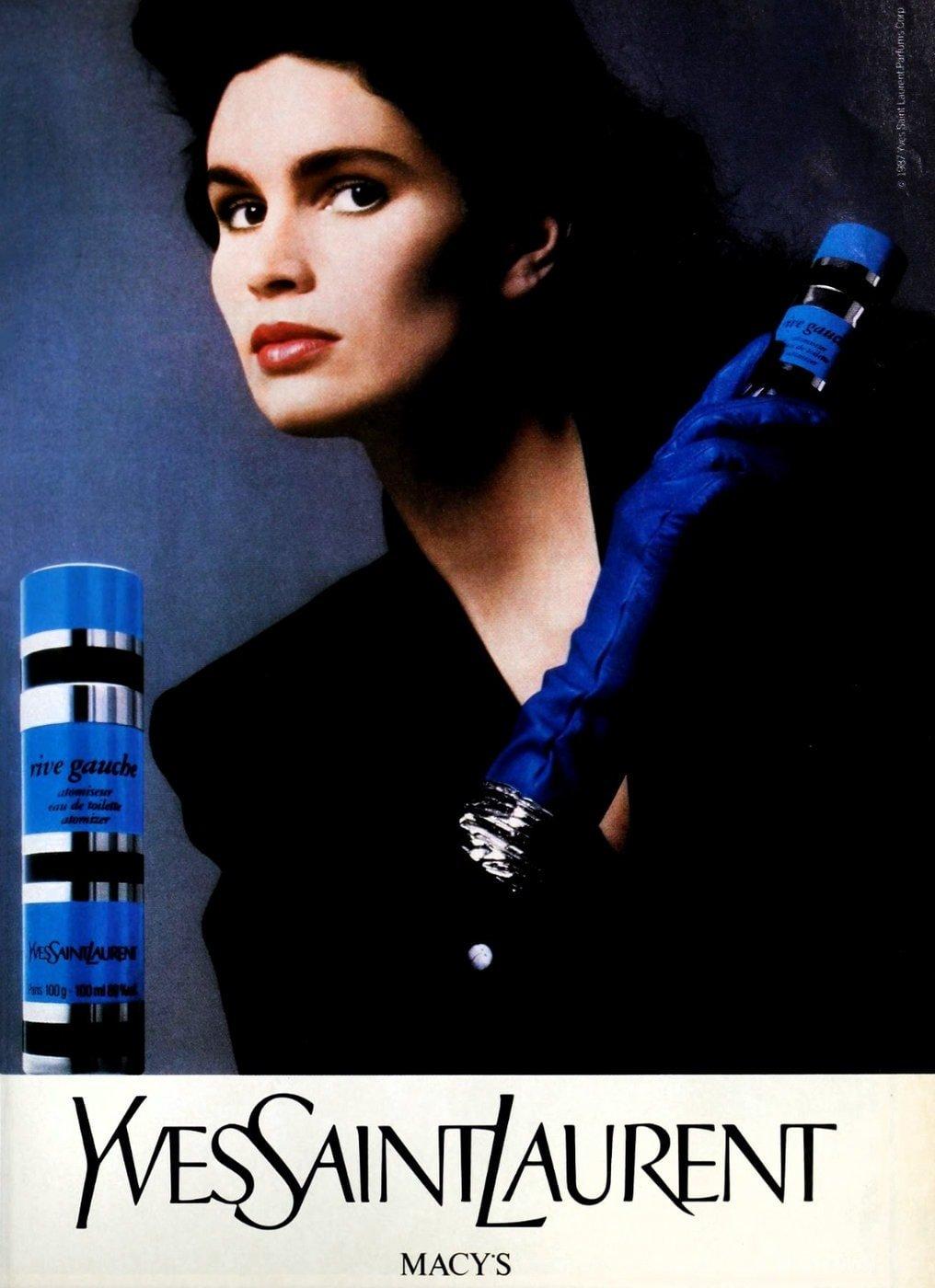 80s YSL Yves St Laurent Rive Gauche perfume