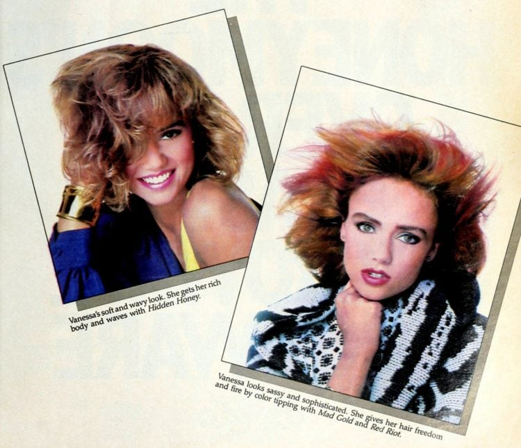 80s hairstyles from 1986