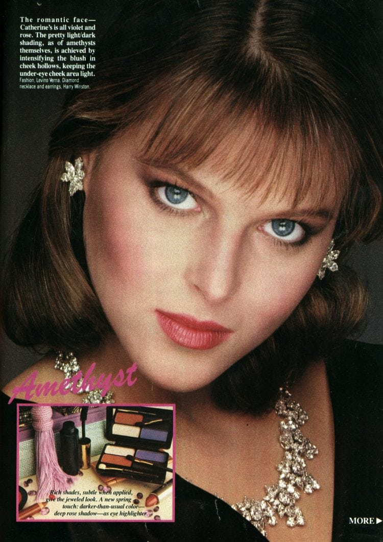 '80s makeovers - The romantic face