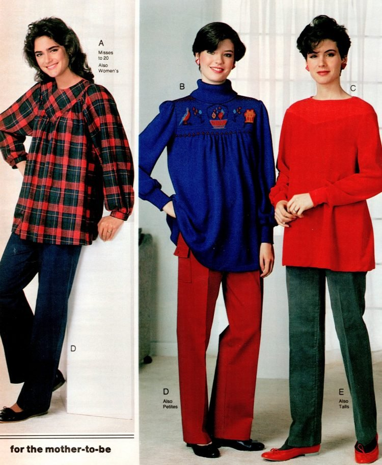 80s maternity wear - Pregnancy clothing (3)