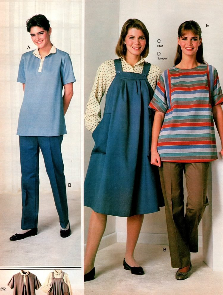 80s maternity wear - Pregnancy clothing (5)