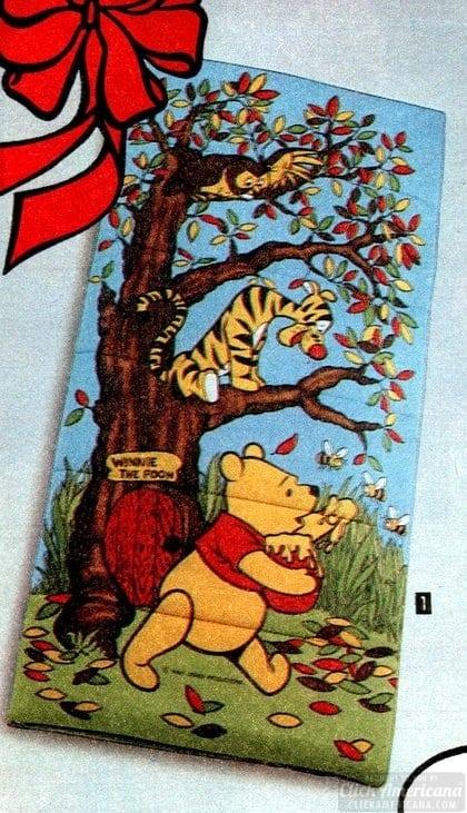 80s sleeping bag: Winnie the Pooh