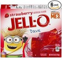 JELL-O Strawberry Gelatin Dessert Mix
