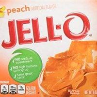 JELL-O Gelatin Mix, Peach, 6 Count, 36 Ounce