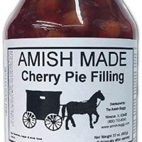 Amish Pie Filling Cherry - TWO 32 Oz Jars