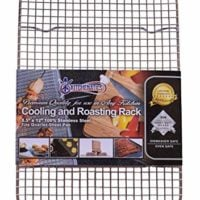 KITCHENATICS 100% Stainless Steel Wire Cooling Rack