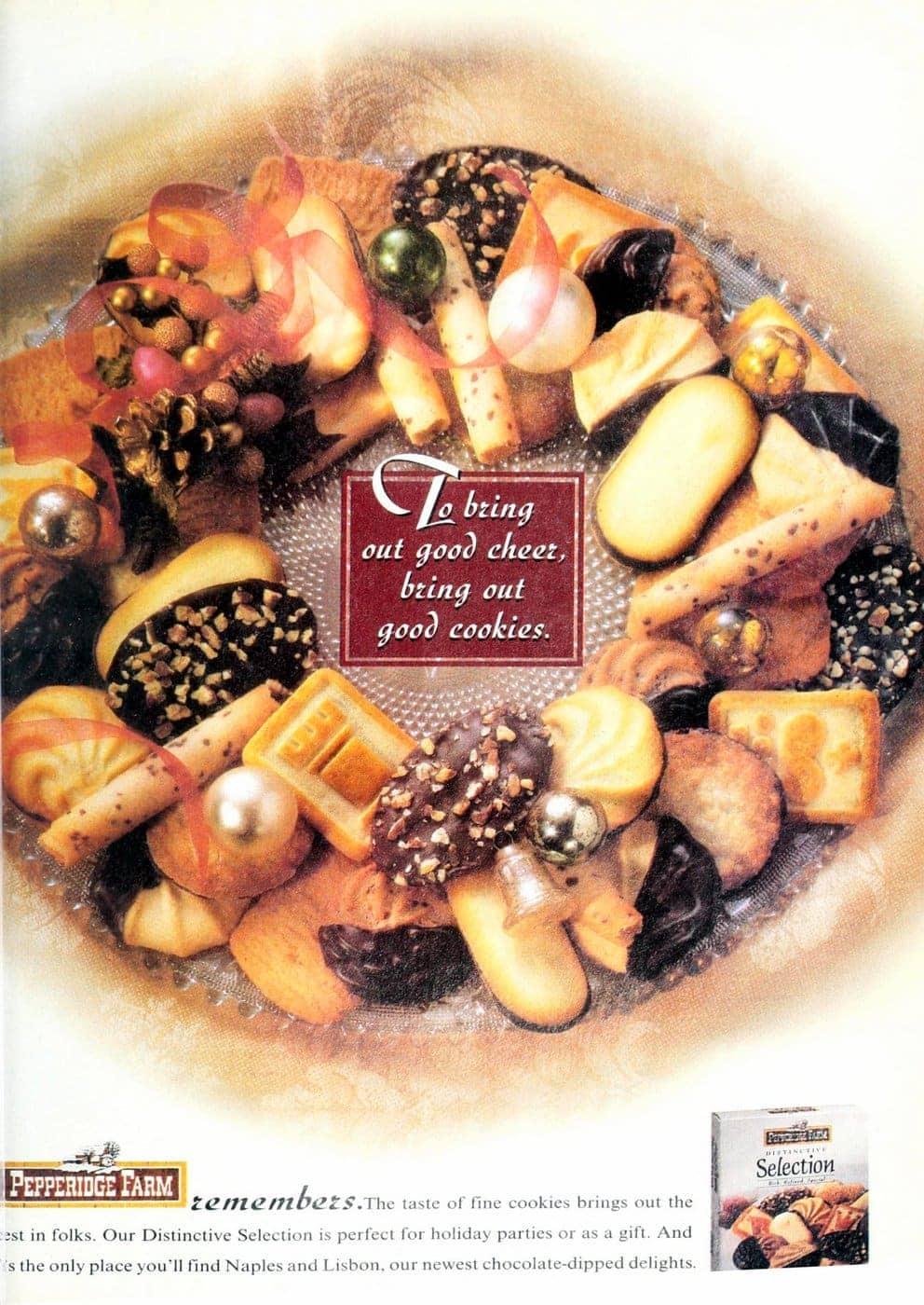 90s Pepperidge Farm cookie selection box (1995)