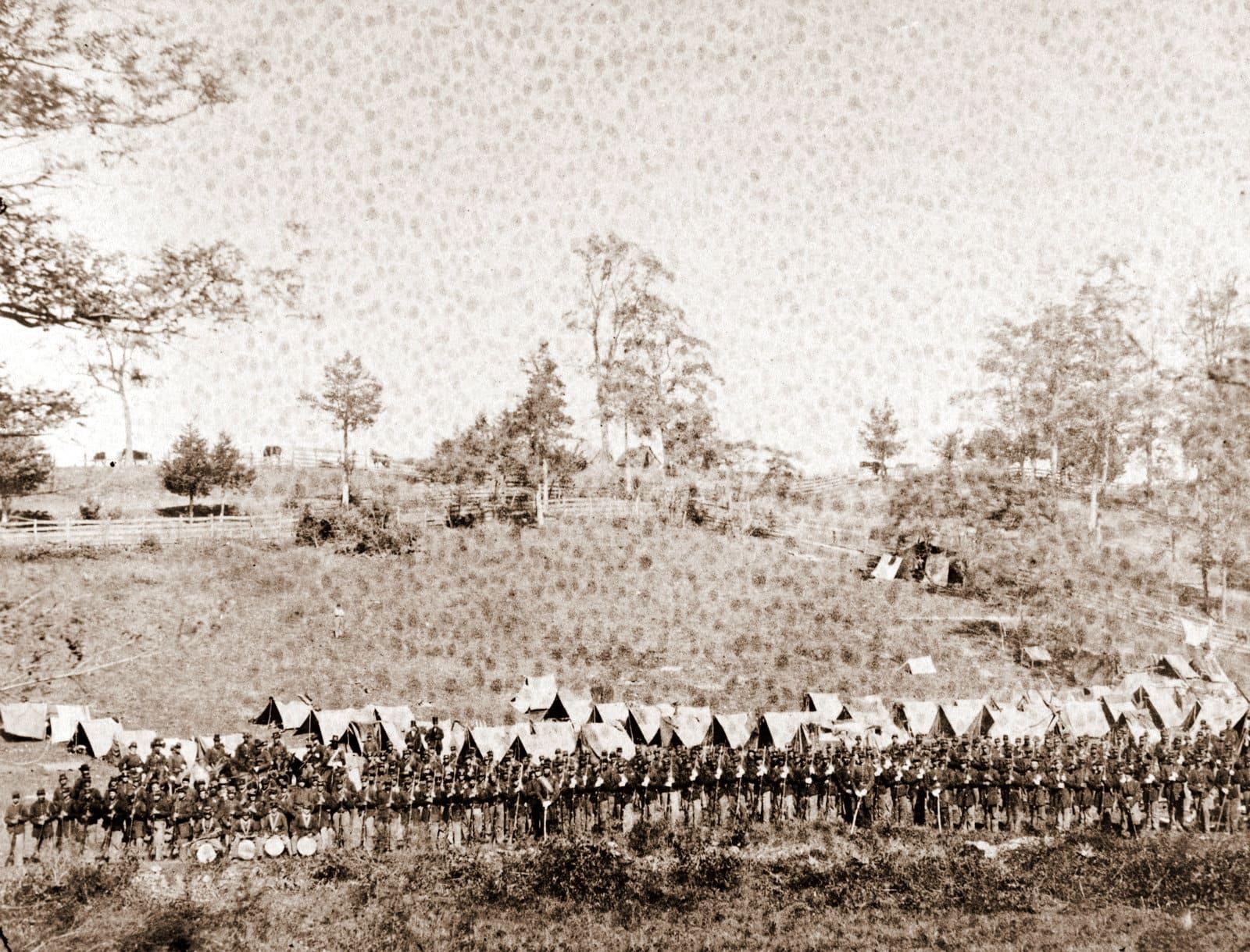93d New York Infantry, Antietam, Md, September 1862