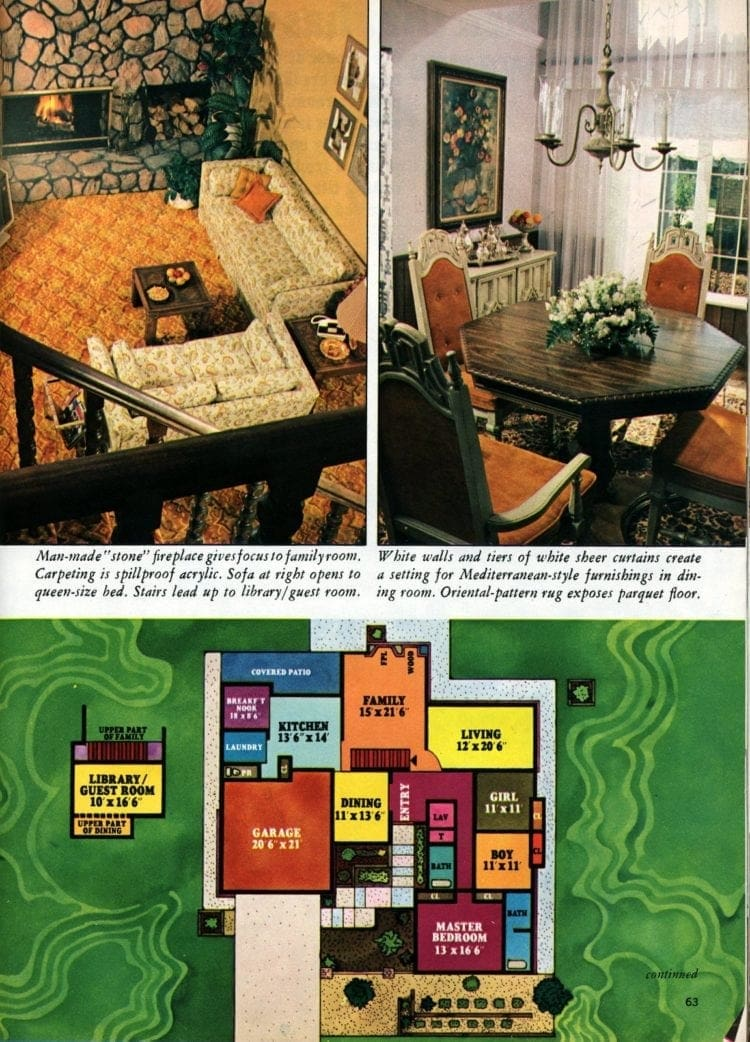 A '70s designer dream house - The American Home of 1974