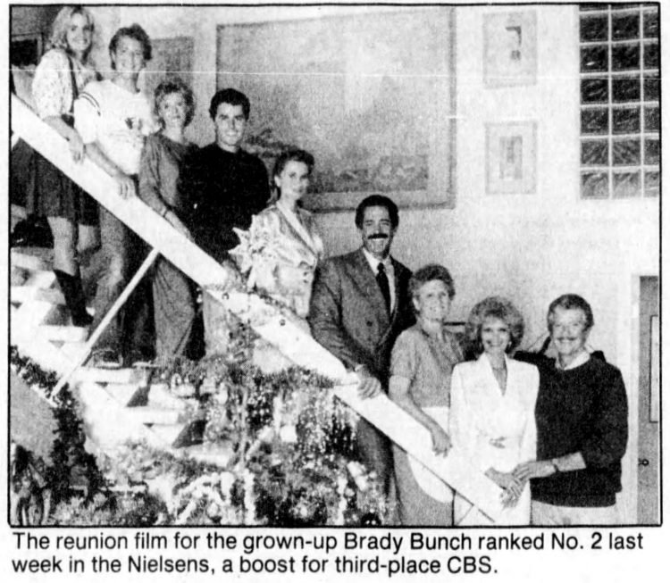 A Brady Bunch Christmas 1988