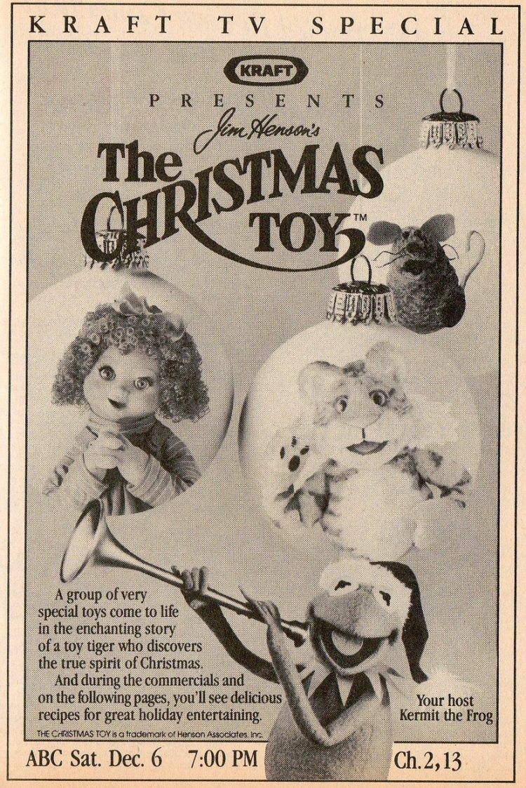 A Christmas Toy vintage TV special 1986