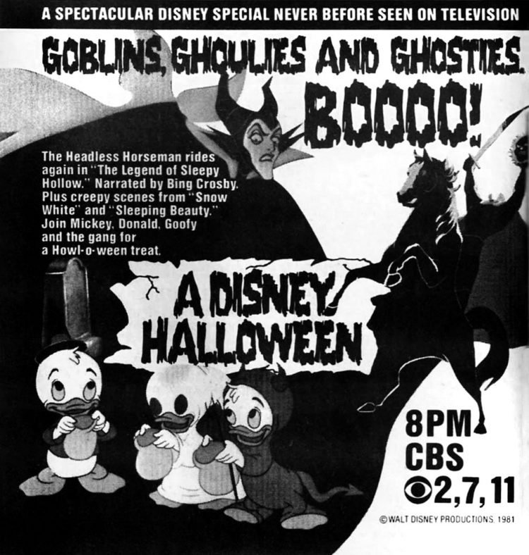A Disney Halloween TV special 1981