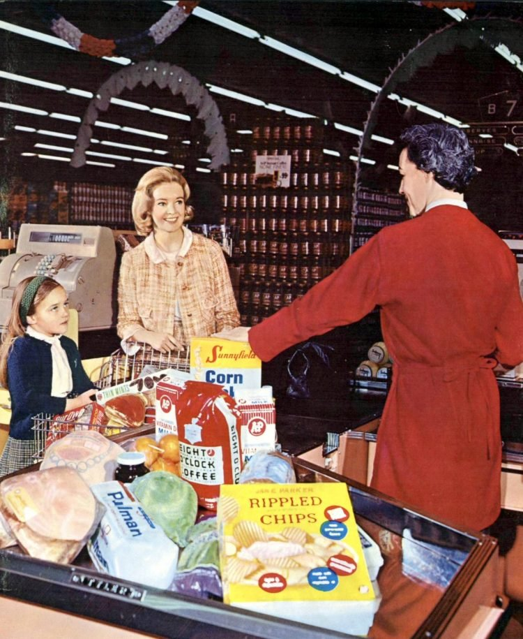 A-P old grocery store - 1966