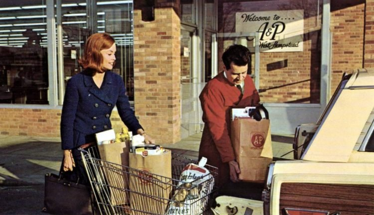 A-P vintage grocery store - 1967 1