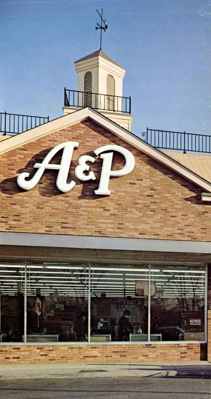 A-P vintage grocery store - 1967 15
