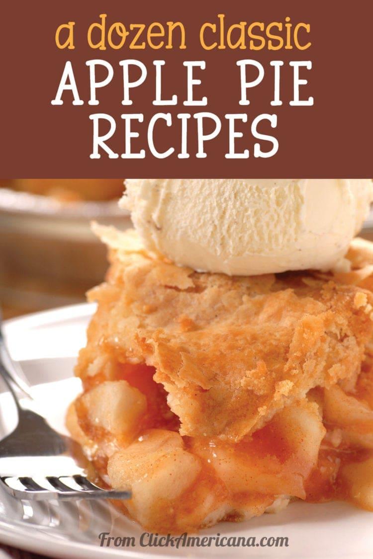 A dozen delicious classic apple pie recipes (1960s)