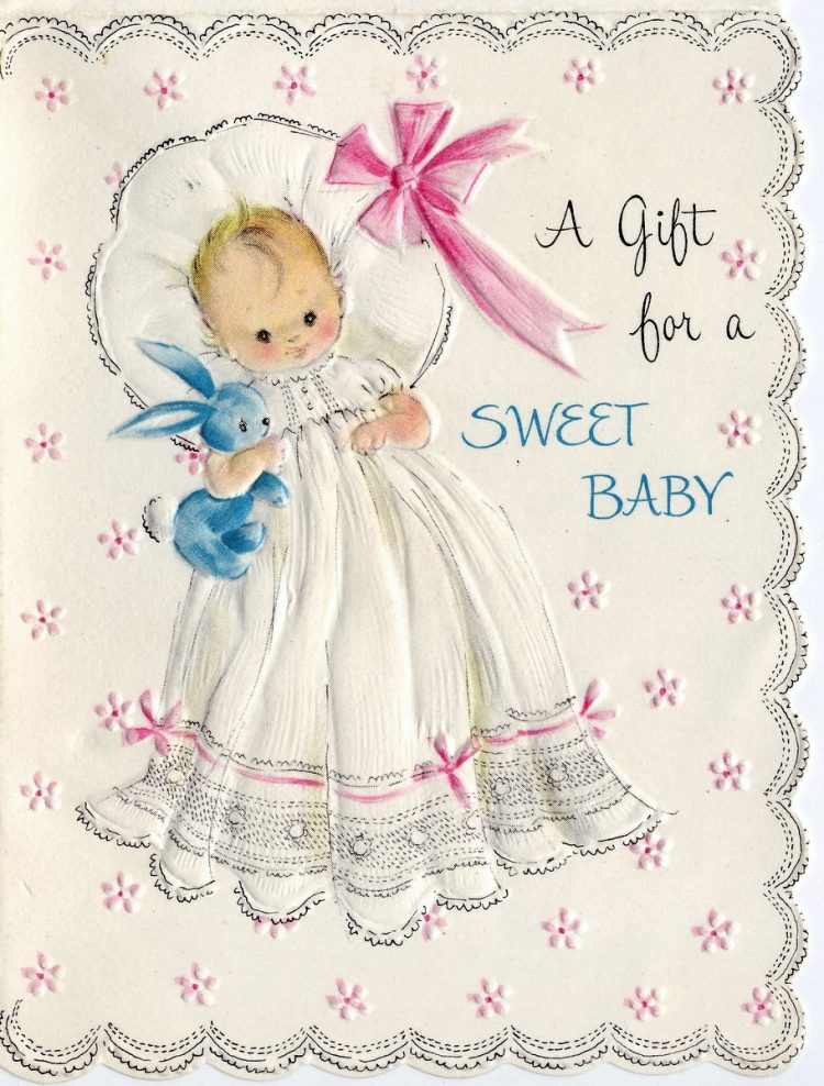 A gift for a sweet baby 1969