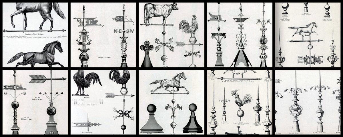 A look back at antique weathervanes
