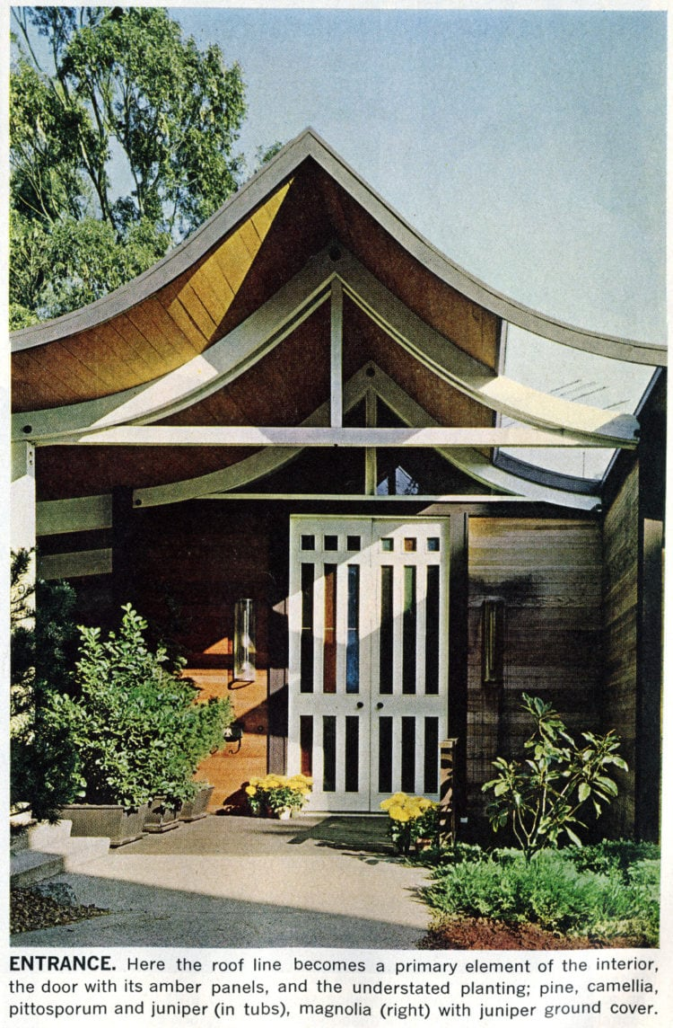 A mid-century modern home design and decor 1965 (3)