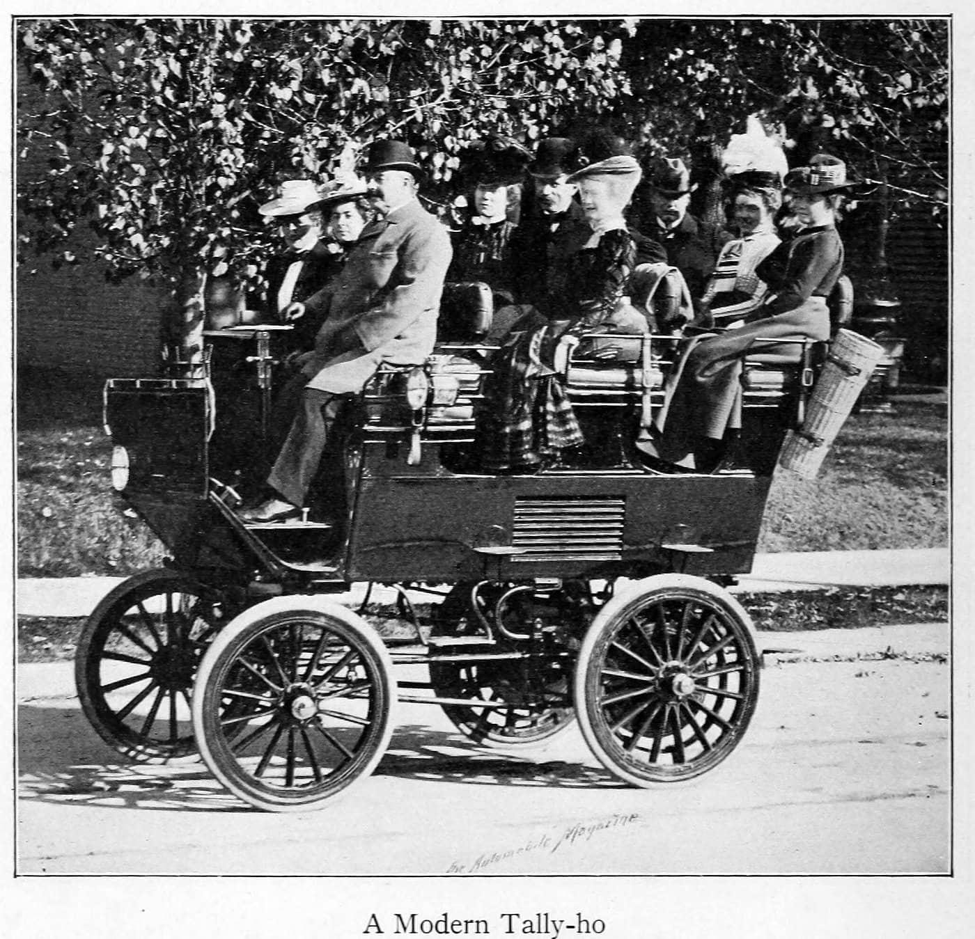 A modern Tally-ho (1899)