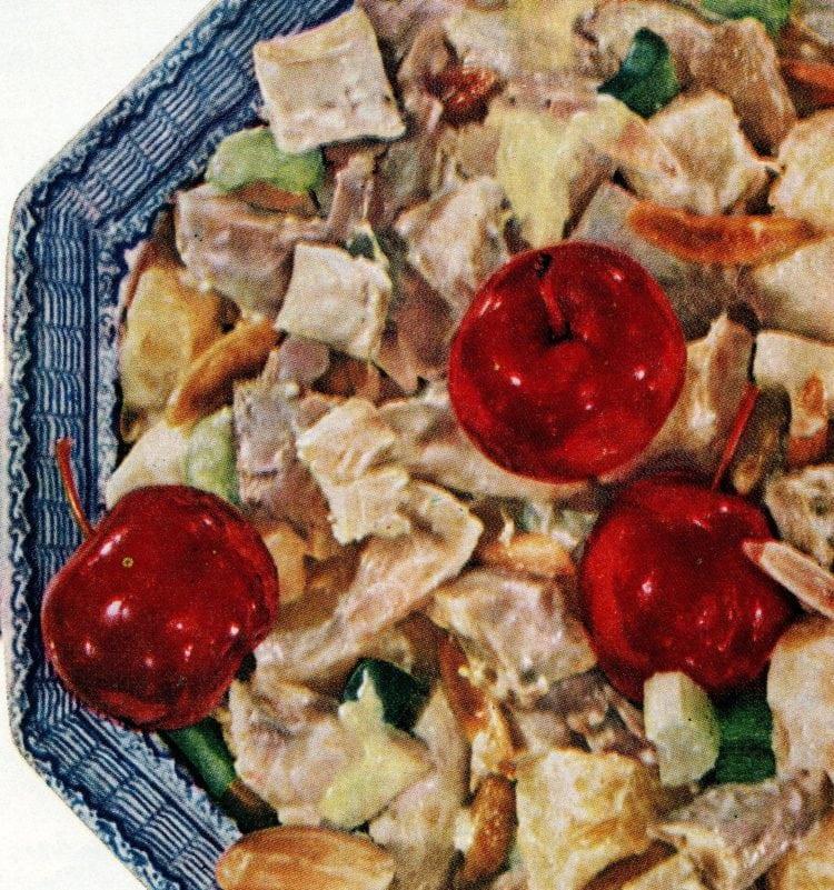 Vintage chicken salad recipe