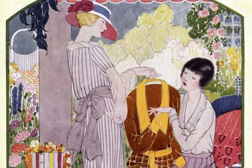 A pretty trousseau tea for bride-to-be (1920)