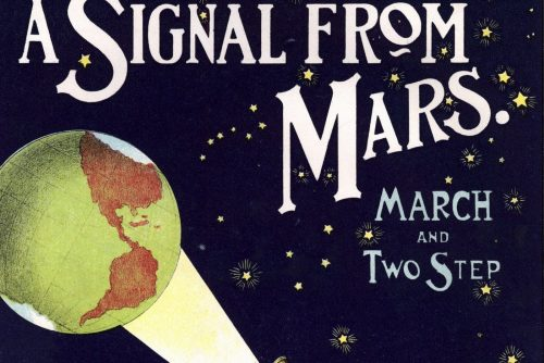 A signal from Mars - music from 1901