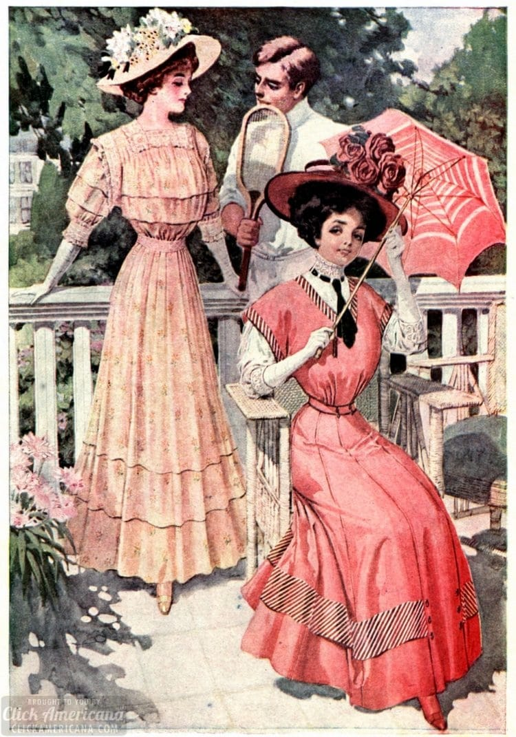 A summer party - 1905