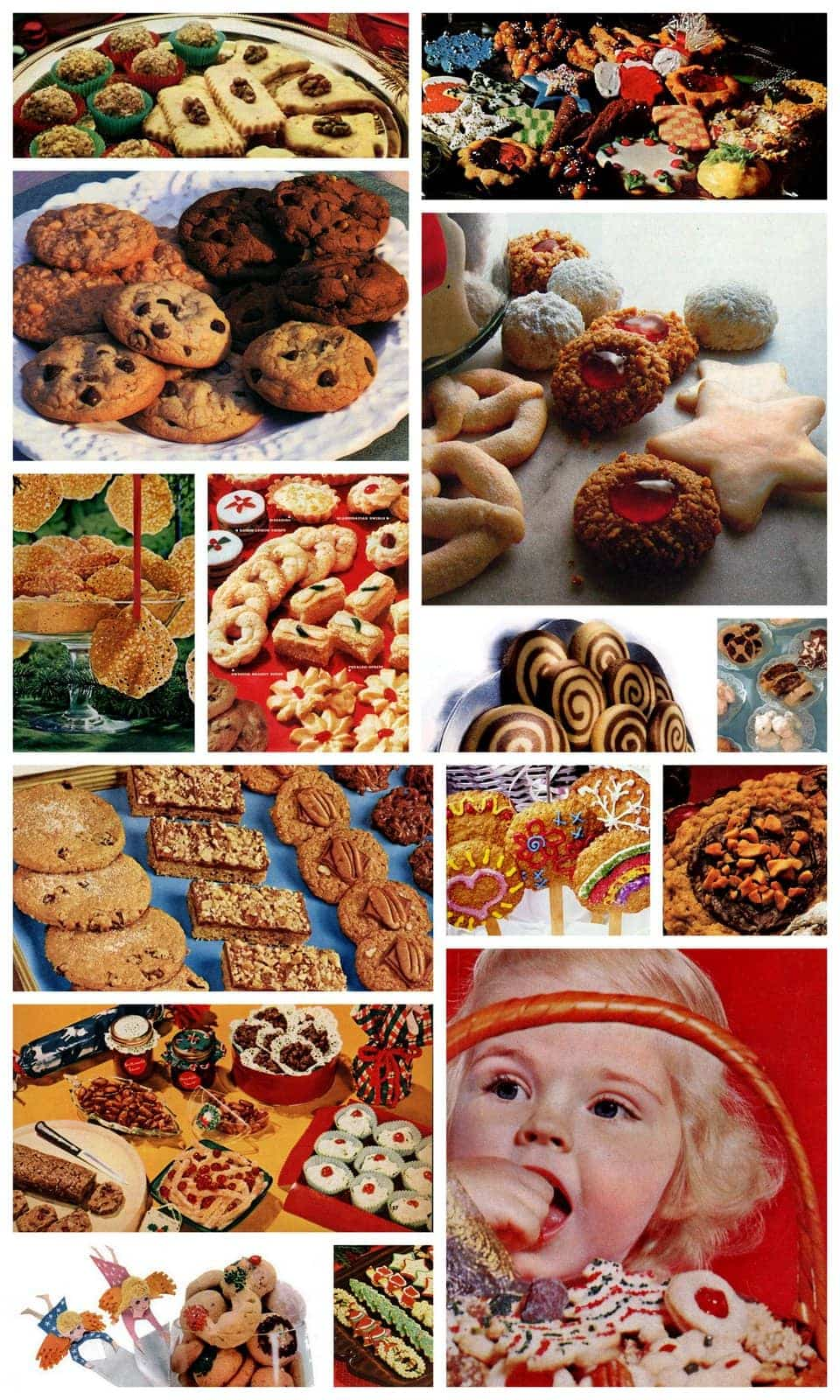 A treasury of 130+ vintage Christmas cookie recipes - Click Americana