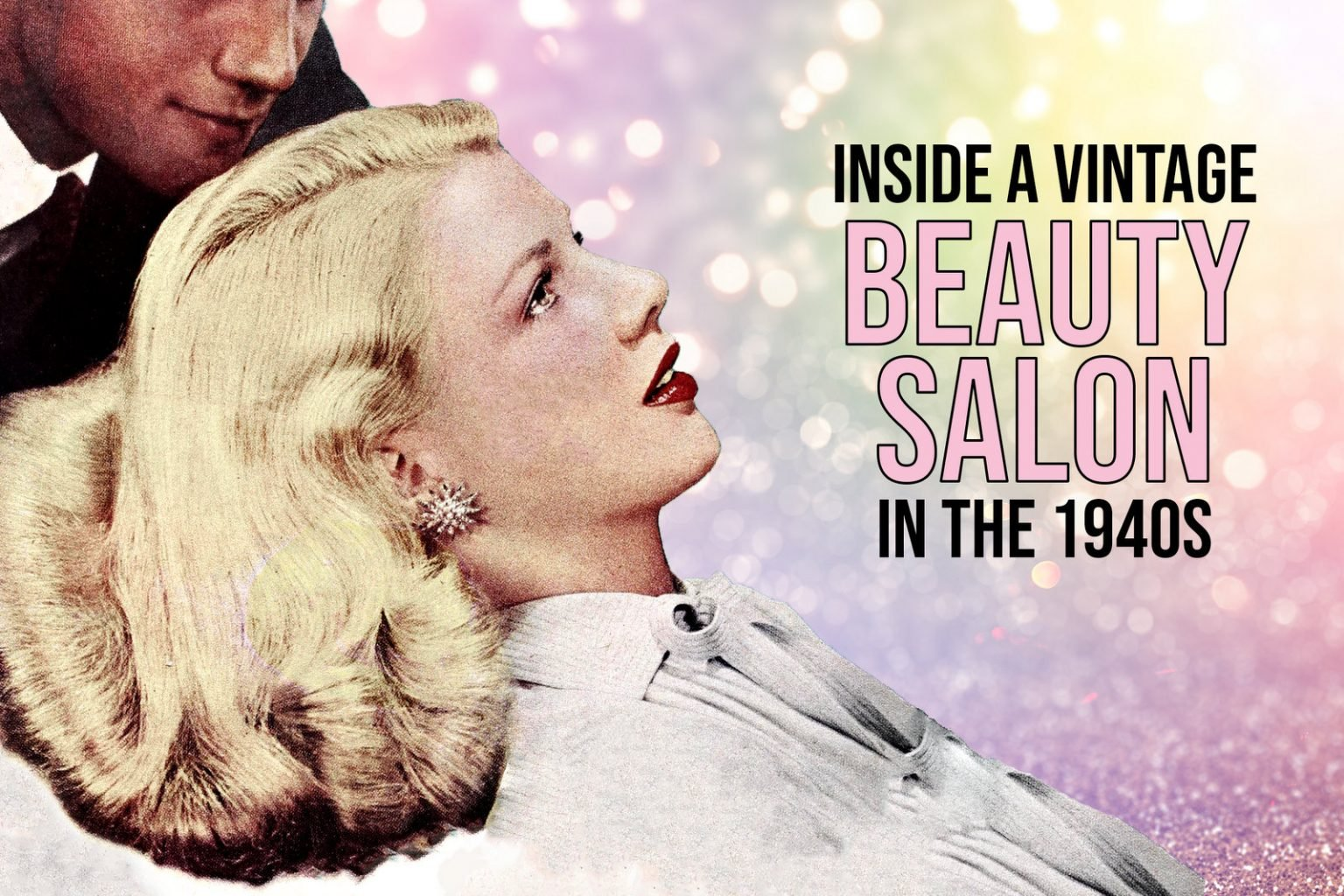 A visit to the beauty salon in 1942