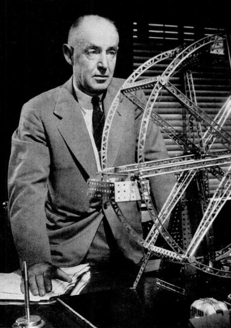 A.C. Gilbert - Erector Set toy inventor in 1946